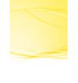 bright modern orange swoosh folder background vector image vector image
