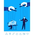 business concept Businessman vector image vector image