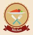 Chef design vector image vector image