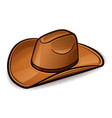 cowboy hat design concept vector image