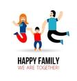 Happy Family Concept vector image