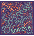 Key to Success text background wordcloud concept vector image vector image