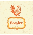 logo Chicken farm Products from chicken vector image vector image