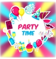 Party Time Background vector image vector image