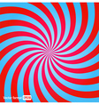 stripes red blue circle square abstract vector image