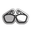 sunglasses accessory isolated icon vector image vector image
