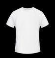 White T-shirt Stock vector image
