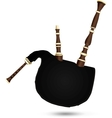 Biniou koz - traditional French bagpipe vector image
