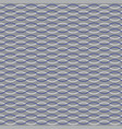 blue white nautical rope stripe on gray vector image vector image