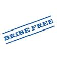 Bribe Free Watermark Stamp vector image vector image