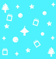 lovely merry christmas background vector image vector image