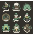 Set of pictures for St Patricks Day vector image vector image