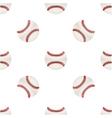 Universal baseball seamless patterns tiling vector image vector image