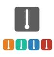 temperature icon vector image