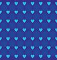 background love star ornament pattern dark blue vector image vector image