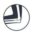 elbow icon vector image