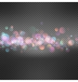 Festive defocused lights EPS 10 vector image vector image