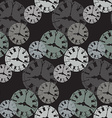 Seamless Watch Pattern3 vector image vector image