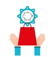 shopping e-commerce piggy money icon graphic vector image vector image