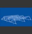 solar panel concept vector image