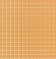 waffle texture seamless vector image vector image