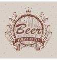 barrels of beer vector image vector image