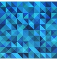 Blue seamless triangle abstract pattern vector image vector image