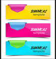 Design template banners