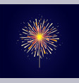 fireworks and celebration background vector image vector image