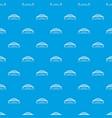 harbour bridge pattern seamless blue vector image