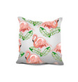 interior design element decorative pillow with vector image