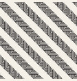 seamless pattern geometric striped ornament vector image