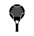 tennis squash racquet icon flat isolated vector image