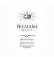 Vintage Premium Label vector image