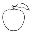 apple icon cartoon black and white