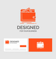 business logo template for cash finance money vector image vector image