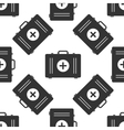 First aid box icon pattern vector image vector image