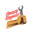 hand tool for home renovation and construction vector image vector image