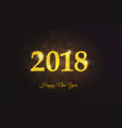 holiday new year card 2 vector image