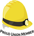Union Member vector image vector image