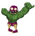 wrestler Zombie vector image vector image