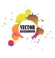 abstract watercolor stained background vector image vector image