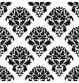 Damask floral pattern design vector image vector image