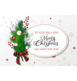 greeting banner template vector image