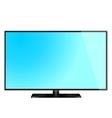 lcd screen monitor tv vector image