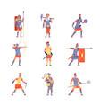 roman army ancient rome war battle legion vector image