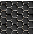 seamless metallic grid vector image vector image