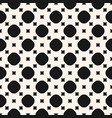 simple geometric monochrome seamless pattern vector image vector image