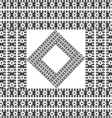 vintage pattern grayscale background vector image vector image