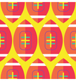 Seamless Rugby Pattern Rugby Pattern vector image